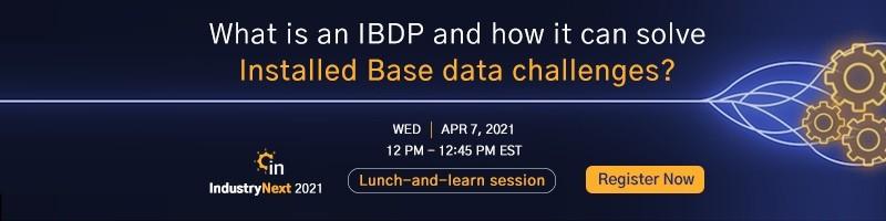 What is an Installed Base Data Platform(IBDP)?