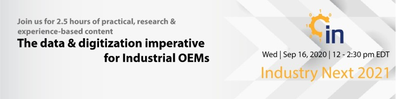 The Data and Digitization Imperative for Industrial OEMs
