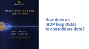 how does an ibdp help oems to consolidate data